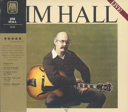 LIVE BY HALL,JIM (CD)